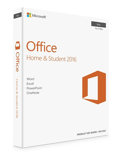 microsoft office 16 home and student
