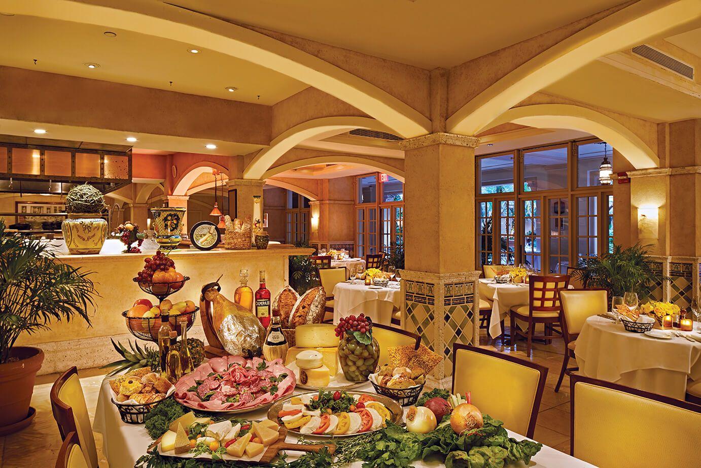 Fontana Italian Restaurant Biltmore Hotel Miami