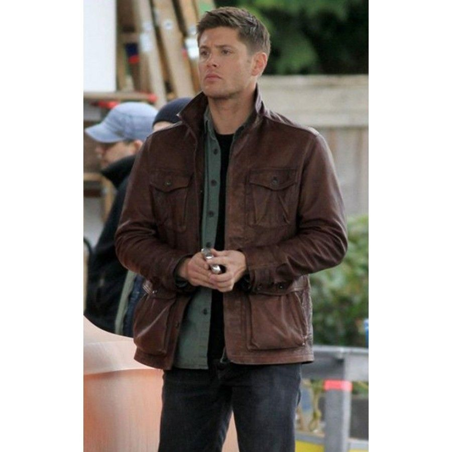 Supernatural Dean Winchester Leather Jacket Free Shipping In Usa Leather Jacket Men Distressed Jacket Leather Jacket [ 900 x 900 Pixel ]