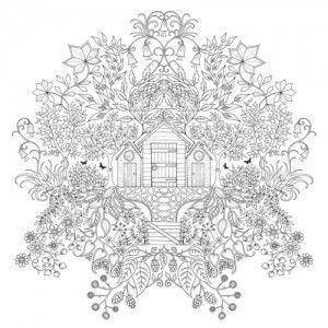 Mandala Boyama Kitaby Esrarengiz Bahce Resim Cizmek