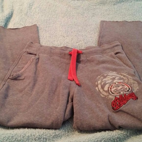Billabong size medium sweats Excellent condition size medium billabong sweat pants Billabong Pants