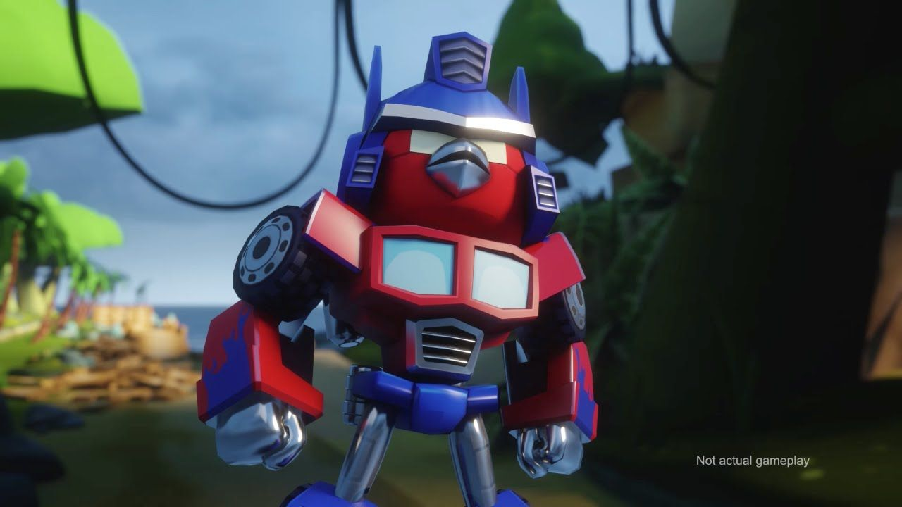 Angry Birds Transformers Comic Con Trailer Geek On