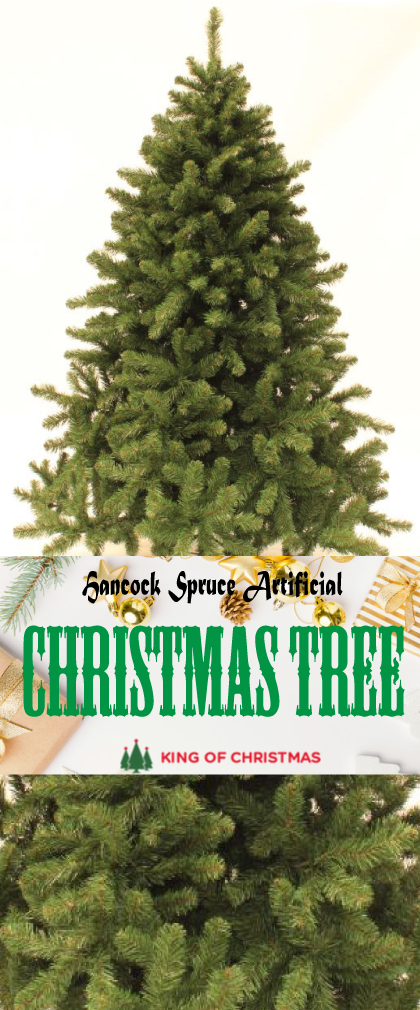 6 Foot Hancock Spruce Artificial Christmas Tree With Warm White Led Lights King Of Christmas Led Christmas Tree Lights Christmas Tree Artificial Christmas Tree