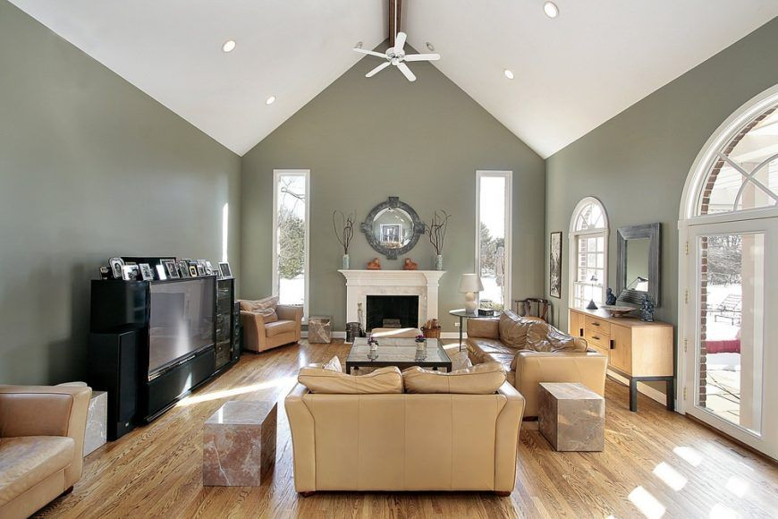 12 Types Of Ceilings For Your Home Vaulted Ceiling Living Room