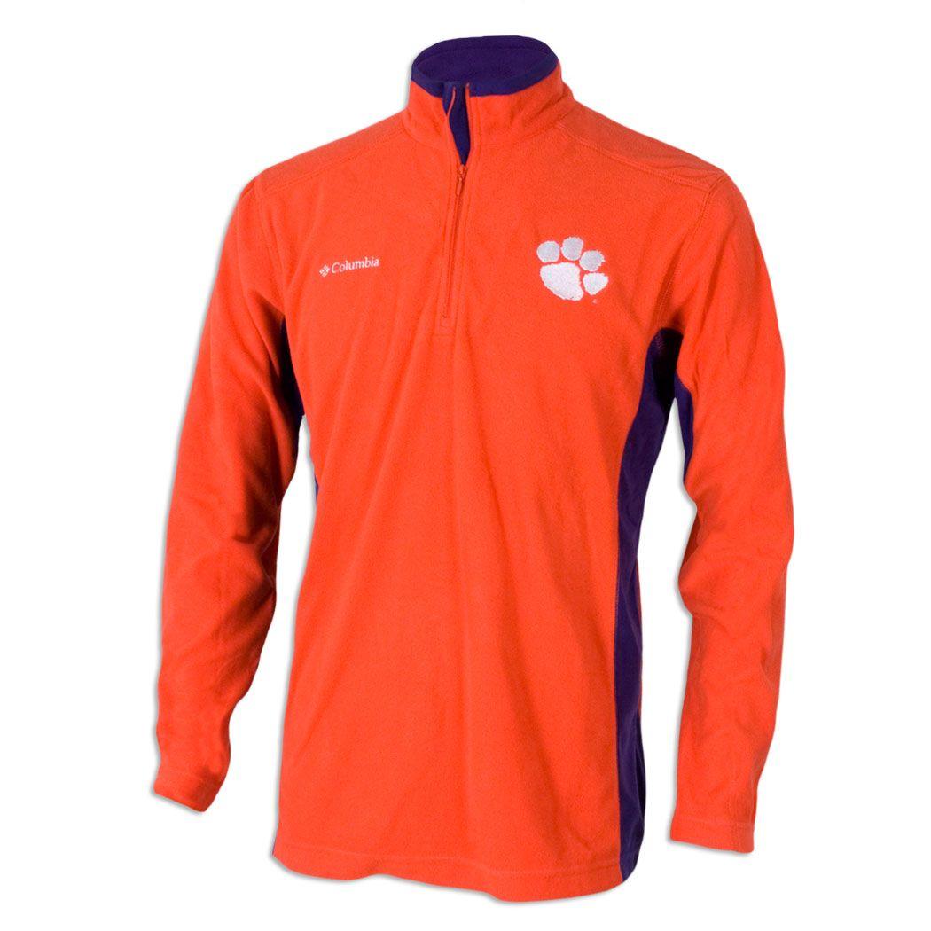 Clemson Tigers Columbia Sportswear Flanker Full Zip Fleece Jacket