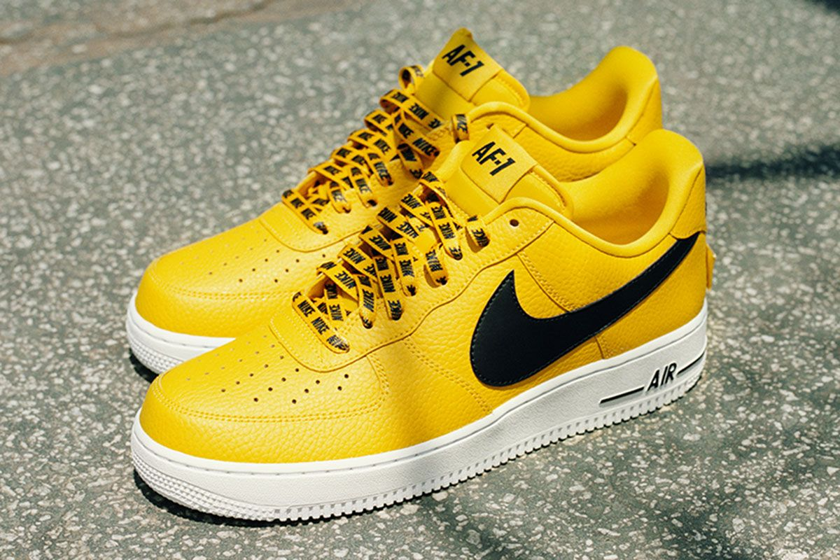 "Nike Air Force 1 Low NBA ""Amarillo"" - EU Kicks: Sneaker Magazine"