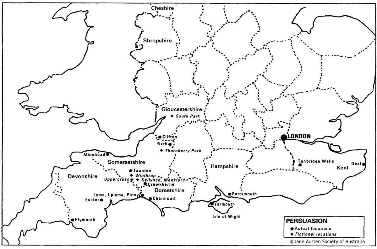 Jane Austen S Locations