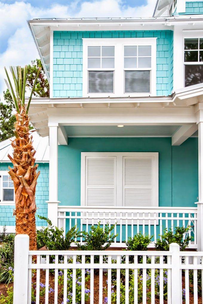 Glenn layton homes house of turquoise casas pinterest casas pintadas exterior colores - Pintar exterior casa ...