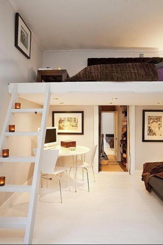 Preciosos dormitorios en altillos dormitorio alto y ideas - Altillos en habitaciones ...