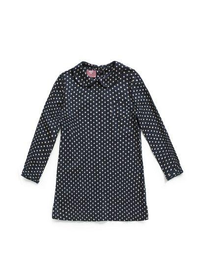 Polka-dot baby doll dress