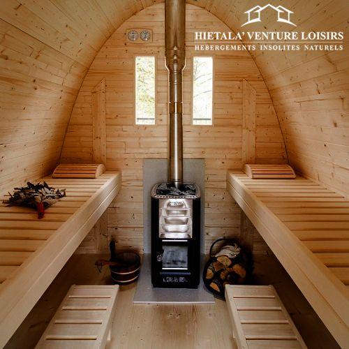 Aventure dans le sauna