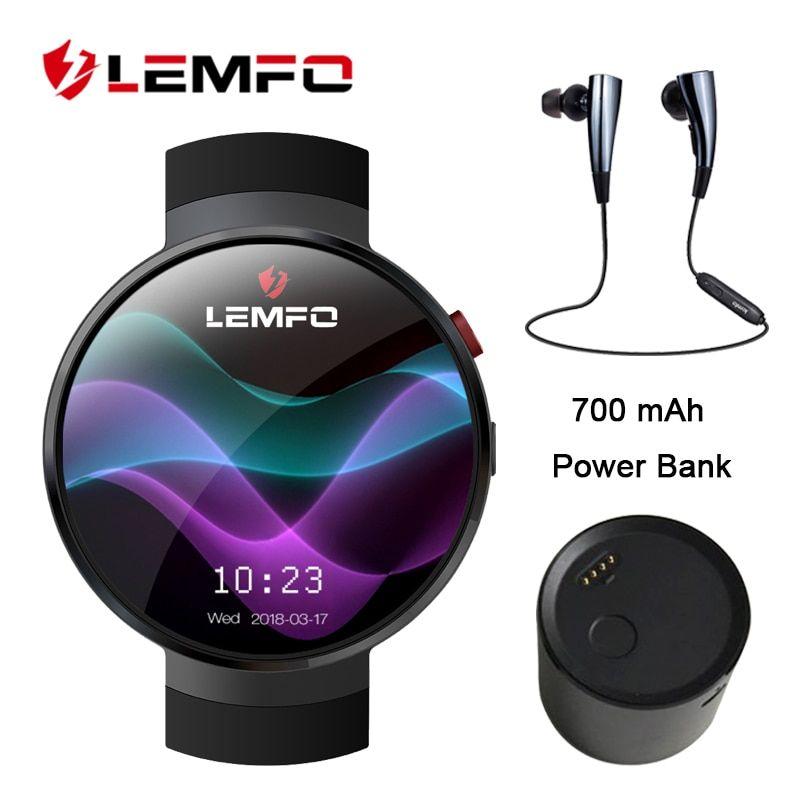 LEMFO LEM7 Smart Watch Android 7 1 1GB+16GB 4G Smartwatch