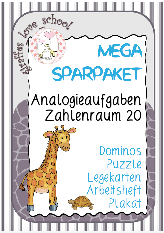 Mega Sparpaket Analogieaufgaben ZR 20 schulschließung ...