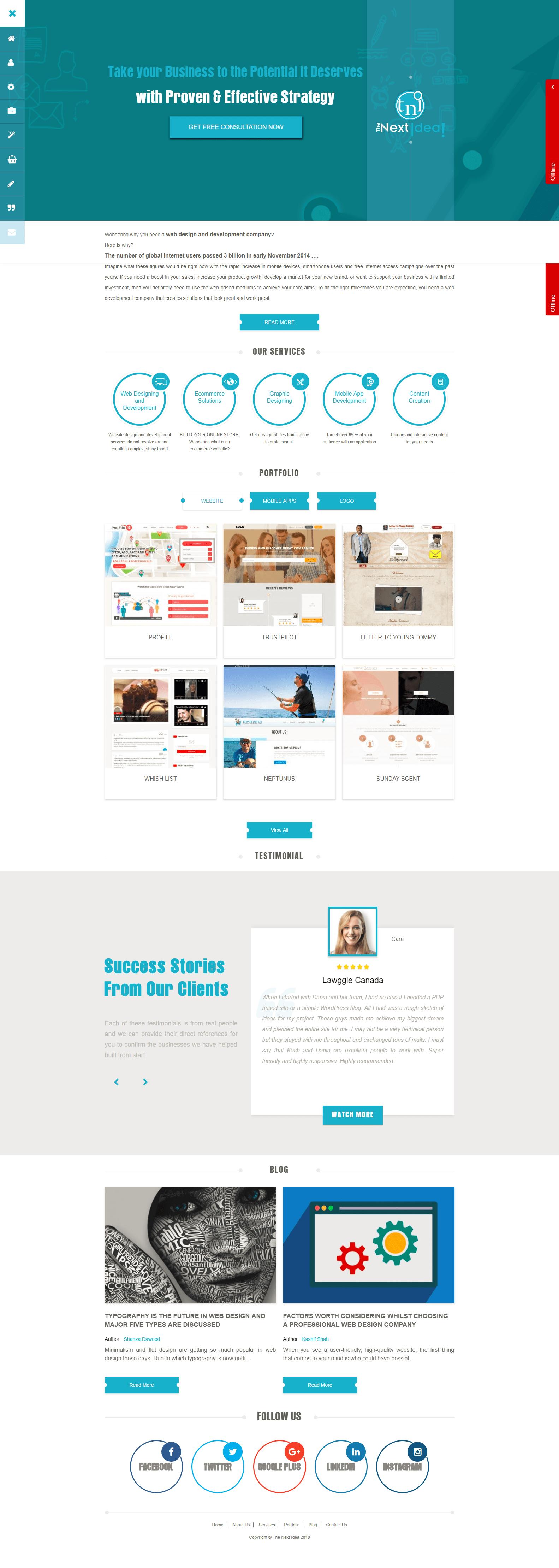 Thenextidea Technerds Com Web Design Agency Philadelphia Web Design Website Design App Development