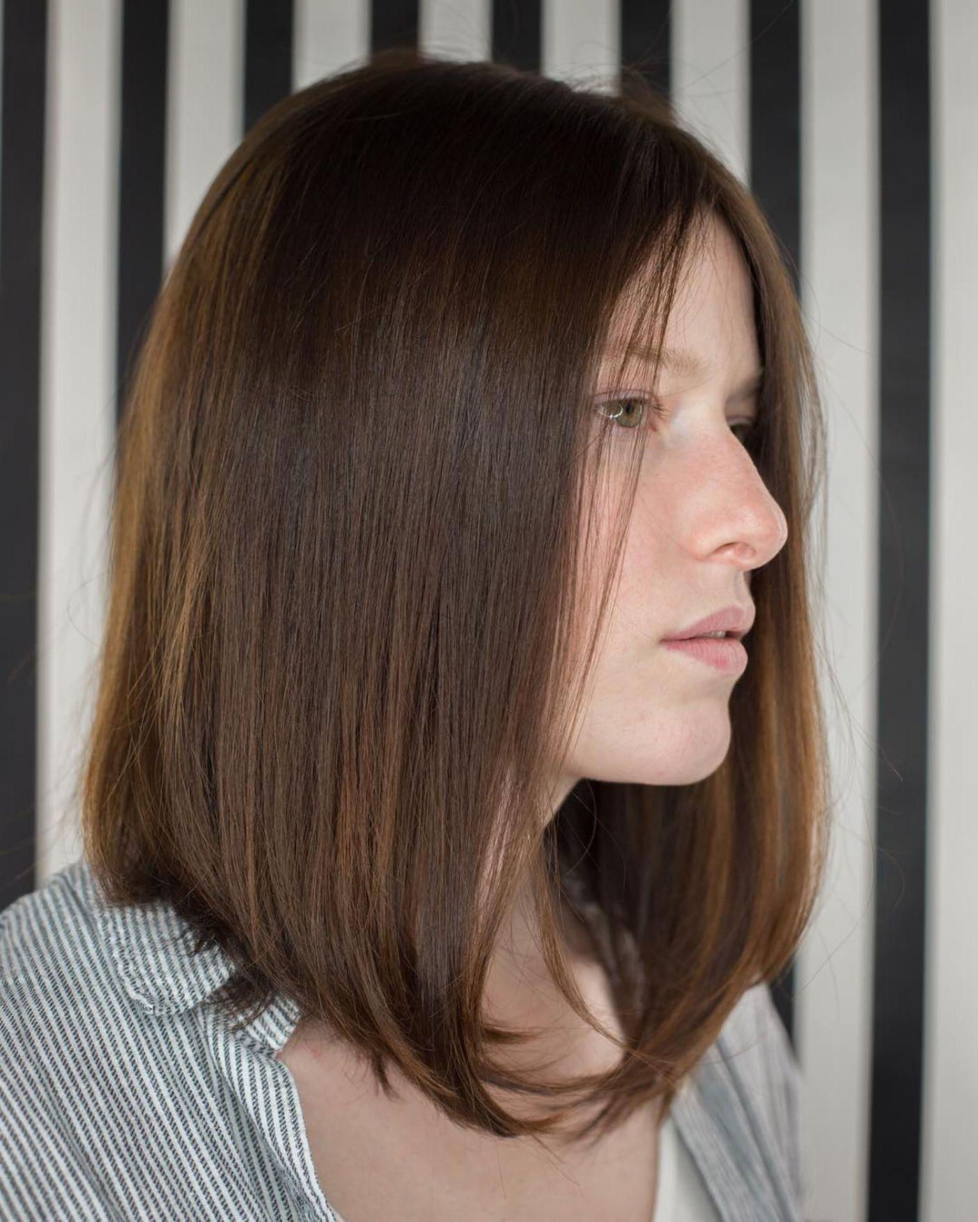 darn cool medium length hairstyles for thin hair hair
