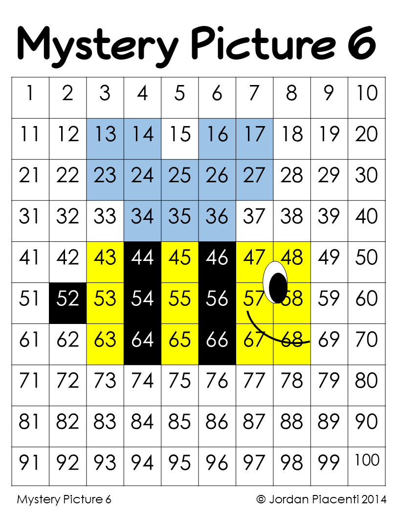 worksheet Mystery Number spring and summer place value color by number mystery pictures pictures