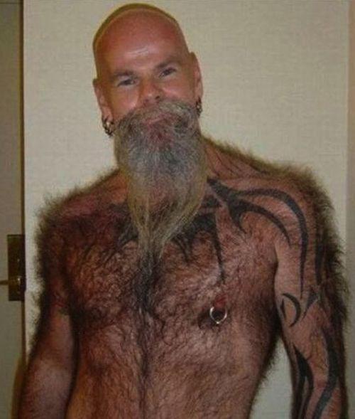 Butt of sexy bodybuilder