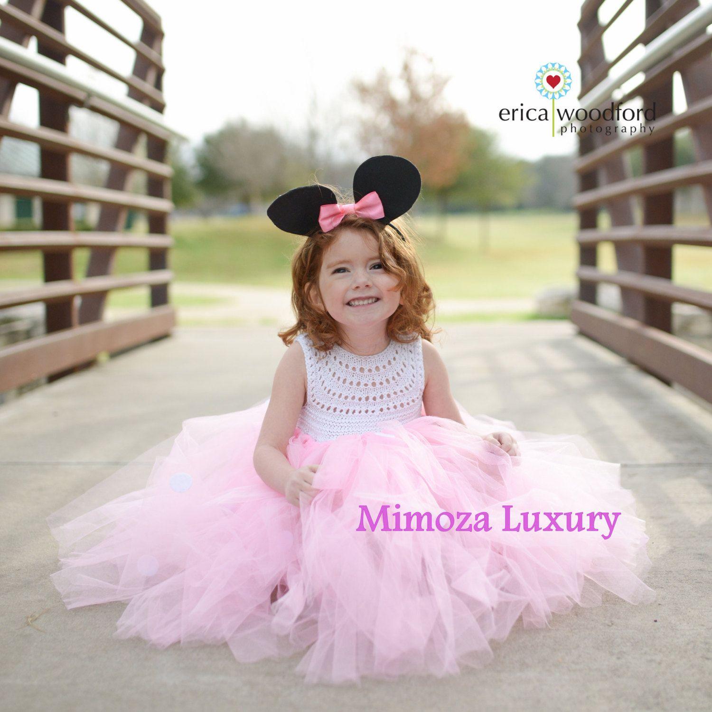 Minnie mouse dress minnie mouse birthday dress Flower girl dress ...
