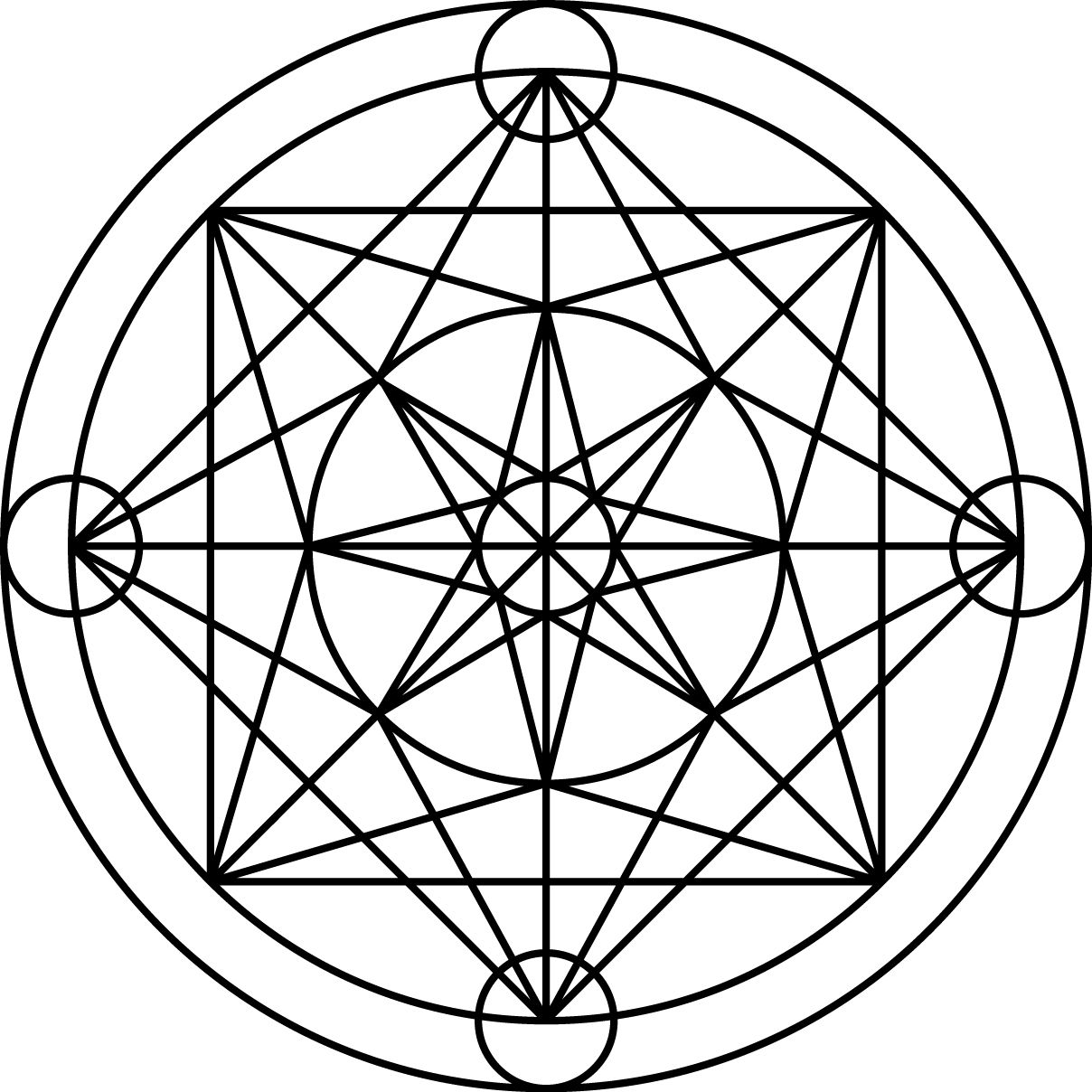 Magos Circle Sacred Geometry