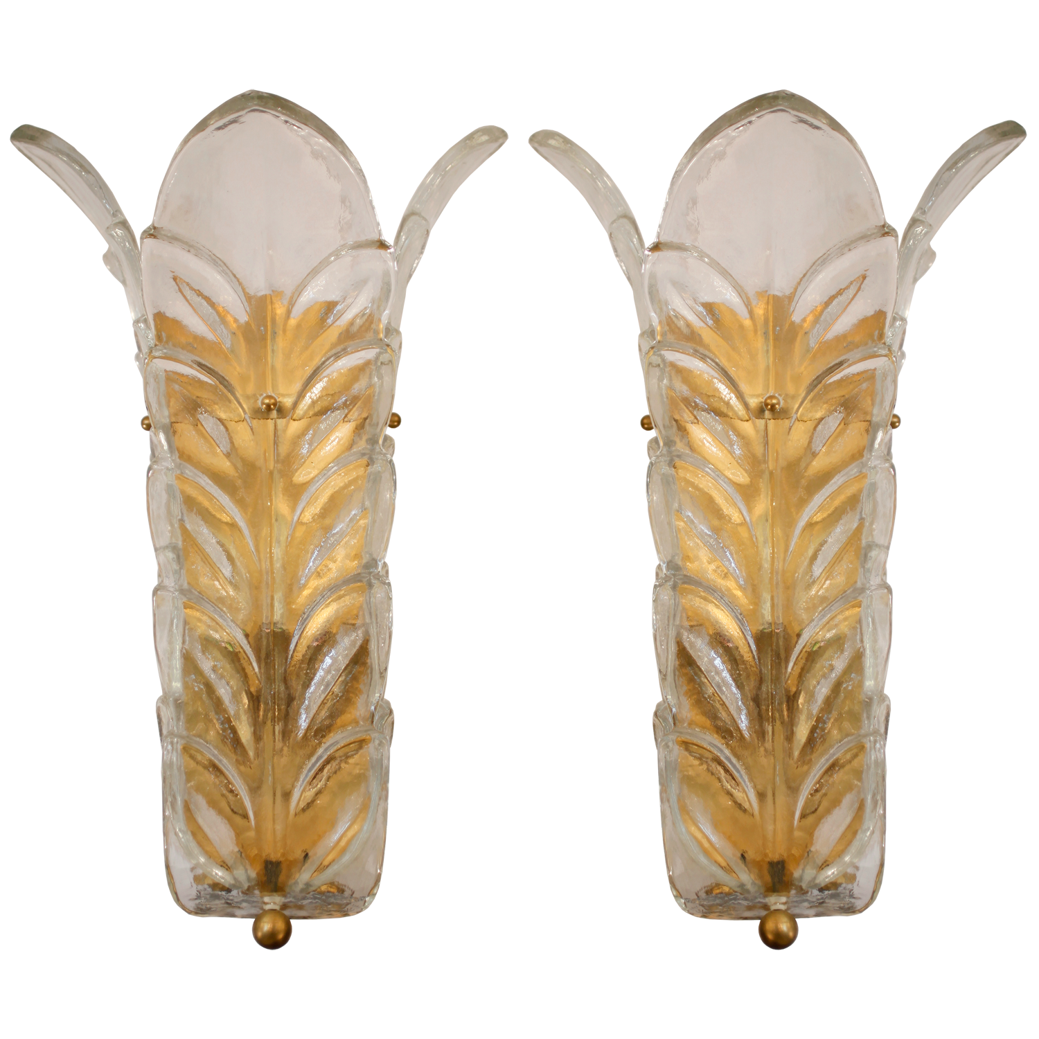 Murano glass sconces by toso and barovier 38 wall lamp murano glass sconces by toso and barovier mozeypictures Gallery