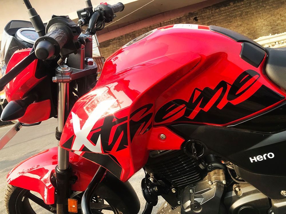 Hero Xtreme 200r Review Hero S Second 200cc Knight With Images
