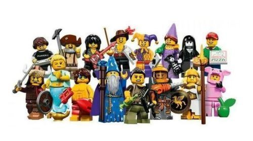 *NEW* LEGO Series 12 Complete Set of 16 MINIFIGURES #LEGO