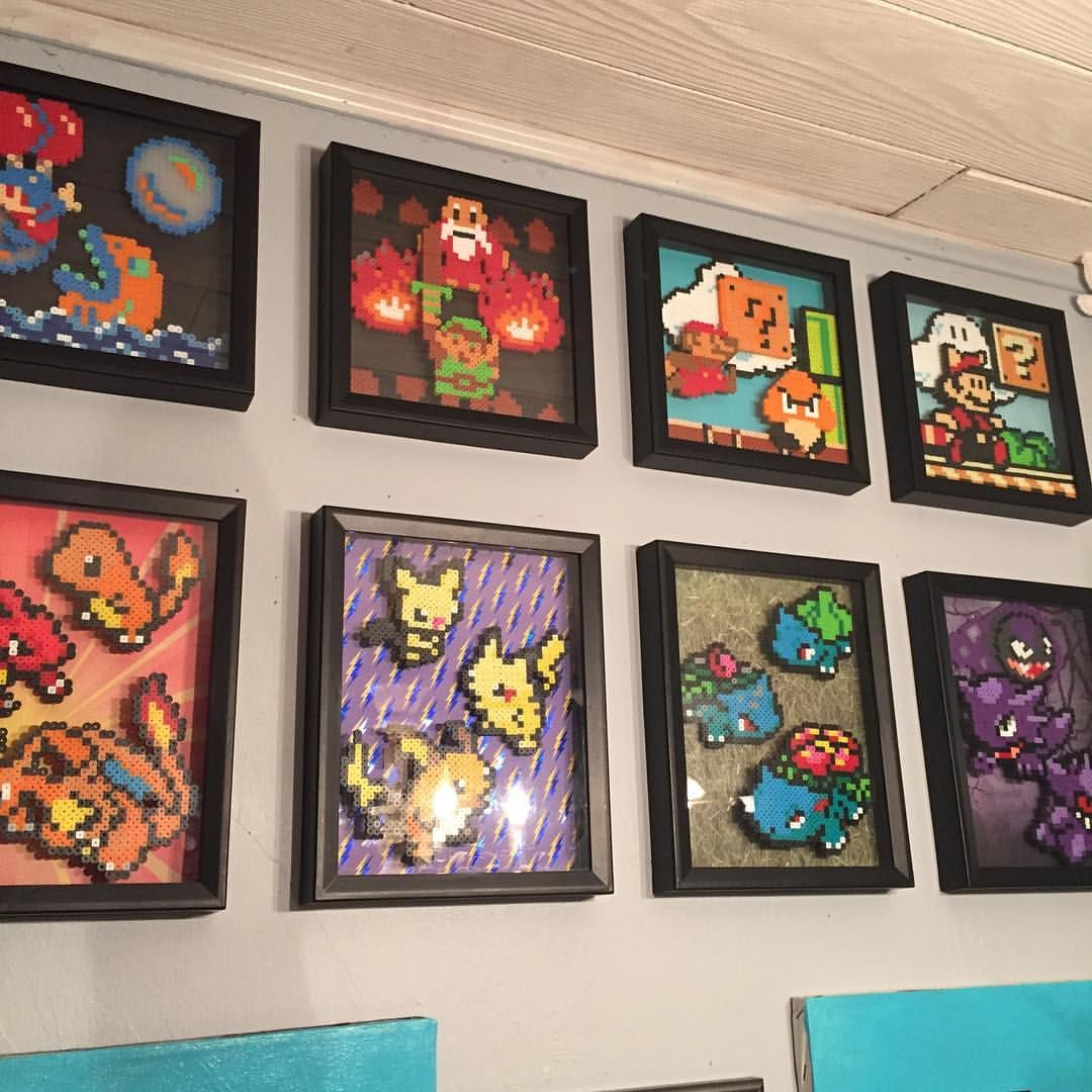 Sadly Michaels N Ac Moore No Longer Carry Square Shadow Boxes And The Long Ones Will Be Gone Soon Aft Perler Bead Patterns Perler Bead Art Pokemon Perler Beads