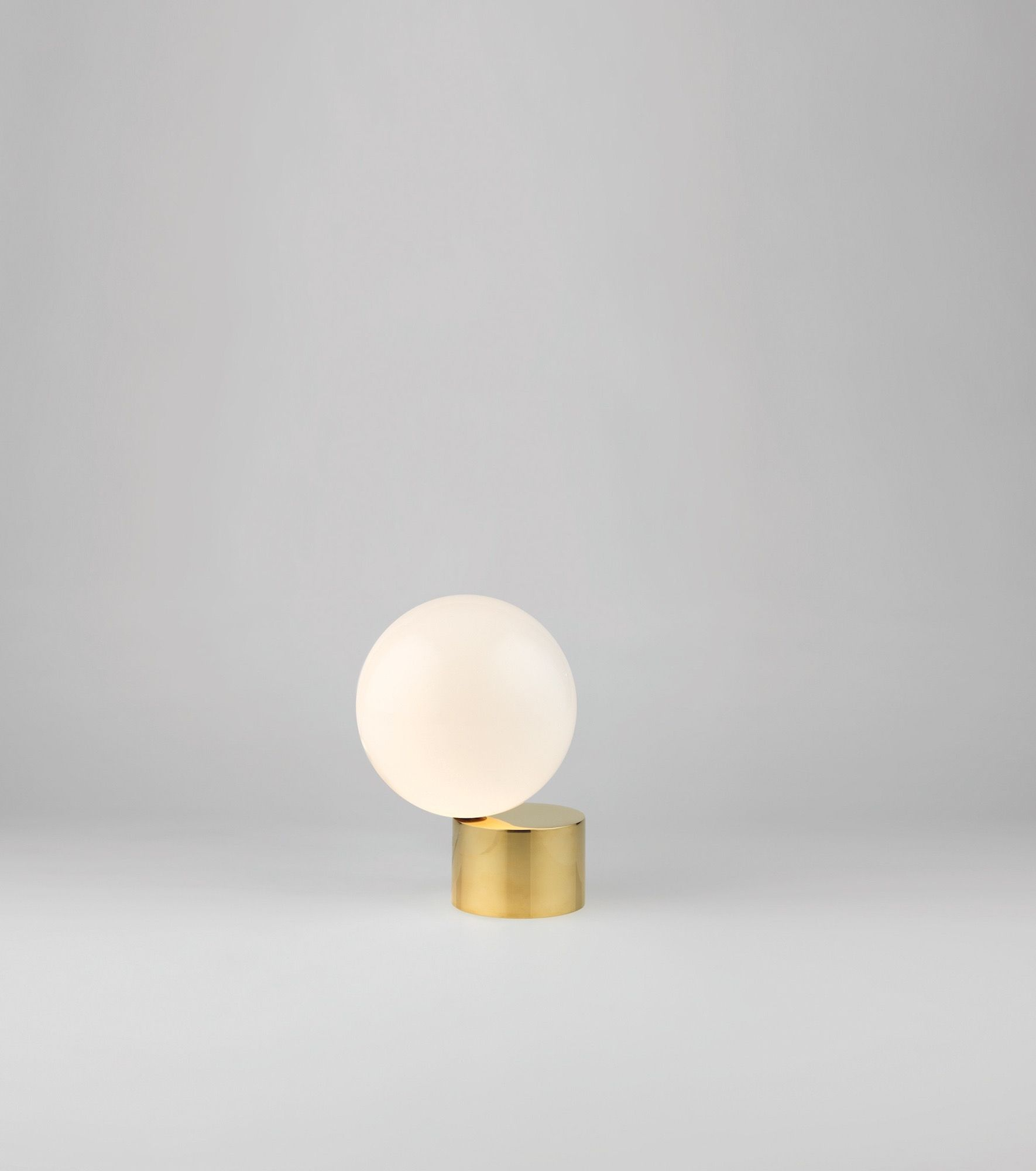 Sigmar   Shop   Lighting   Tip of the Tongue Table Light Cast Polished Brass