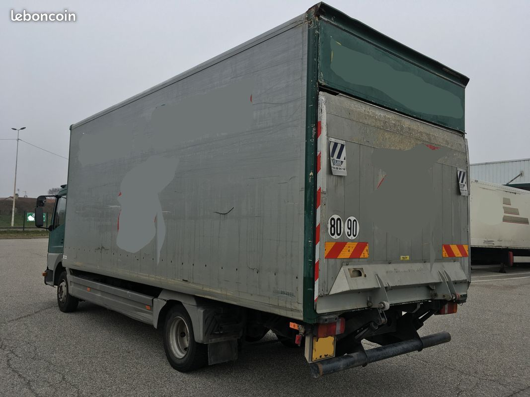 Camion Mercedes Atego 7 5 T Transport Manutention Mercedes Camion Hayon