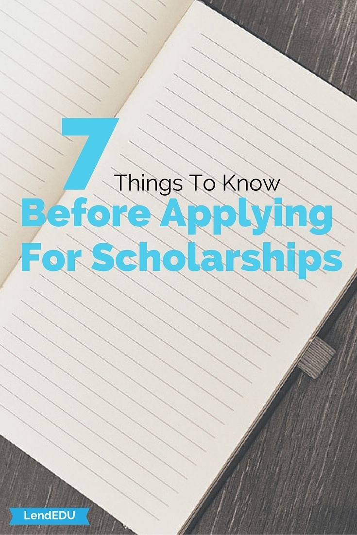 Grants For College >> 7 Things To Know Before Applying For Scholarships Grants