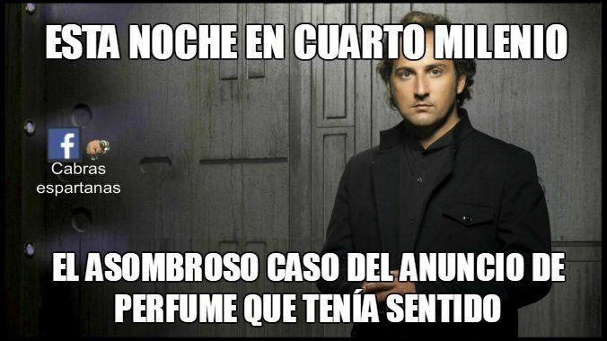 Cuarto Milenio: perfumes | Cuarto Milenio humor | Humor, Funny ...