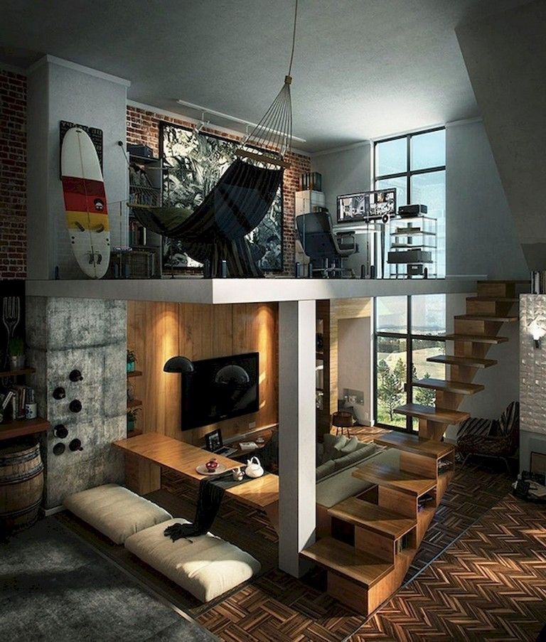 33 Awesome Modern Garage Apartment Designs Ideas Ev Tasarim Planlari Ev Planlari Ic Tasarim