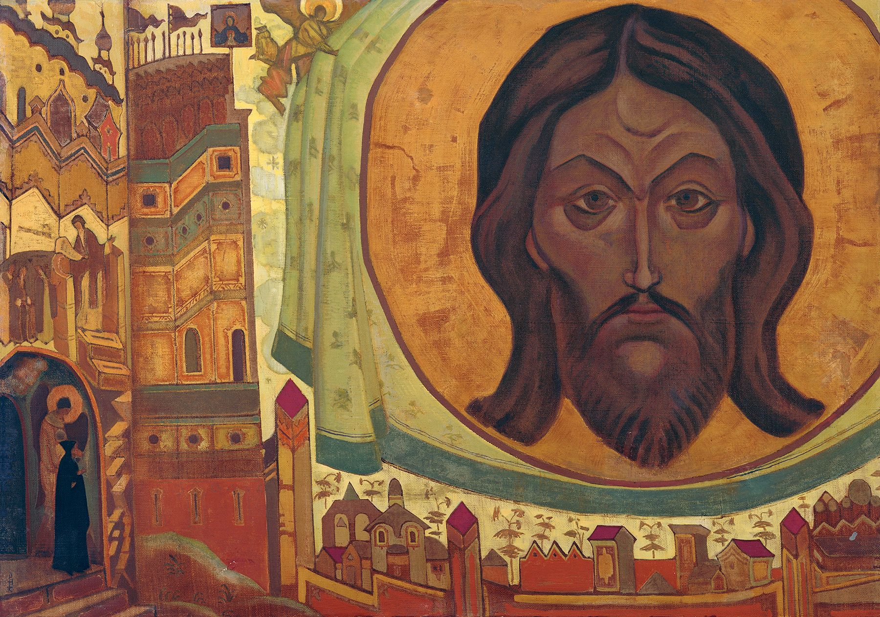 Phoenix Art Museum Jesus Painting