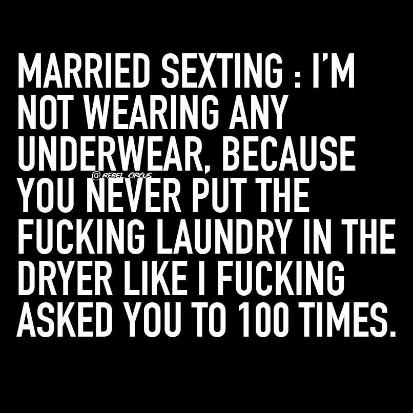 Sexting married