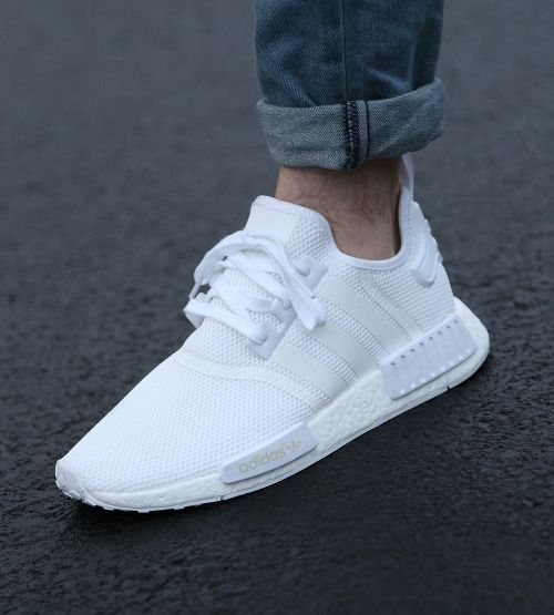 Adidas NMD pure White  fdb6b92b3