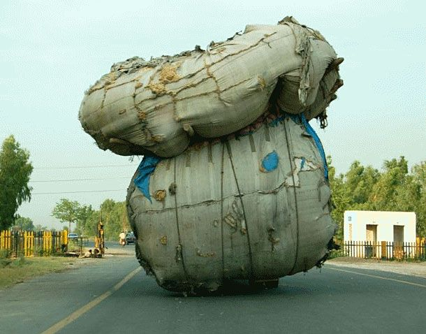 teetering load-funny