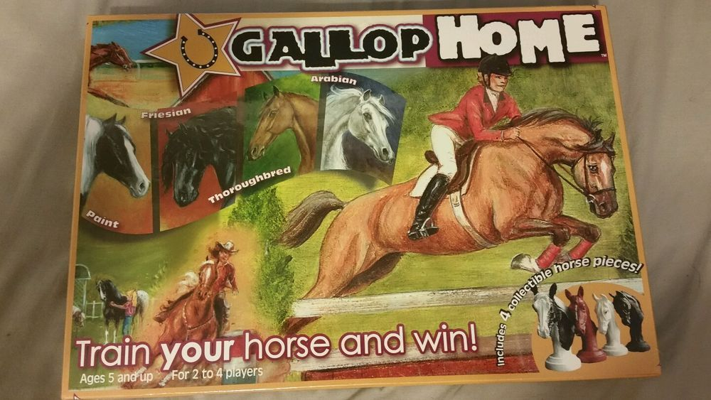 Gallop Home Board Game Ages 5 and up Sealed #GallopHomeLLC