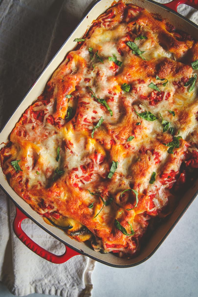 Summer Roasted Vegetable Lasagna Sweetphi Recipe Roasted Vegetable Lasagna Vegetable Lasagna Recipes Vegetable Lasagna
