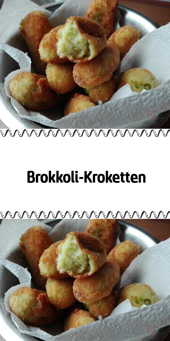 Brokkoli-Kroketten | Kroketten, Brokkoli, Lebensmittel essen