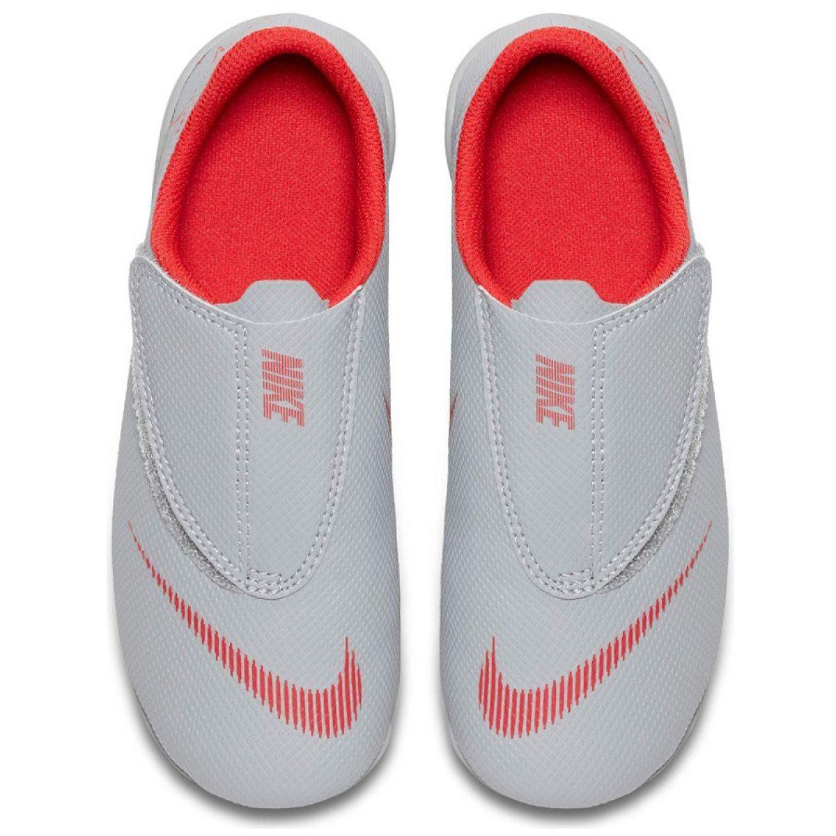 Buty Pilkarskie Nike Mercurial Vapor 12 Club Ps V Mg Jr Ah7351 060 Biale Wielokolorowe Kids Football Boots Football Shoes Mercurial Football Boots