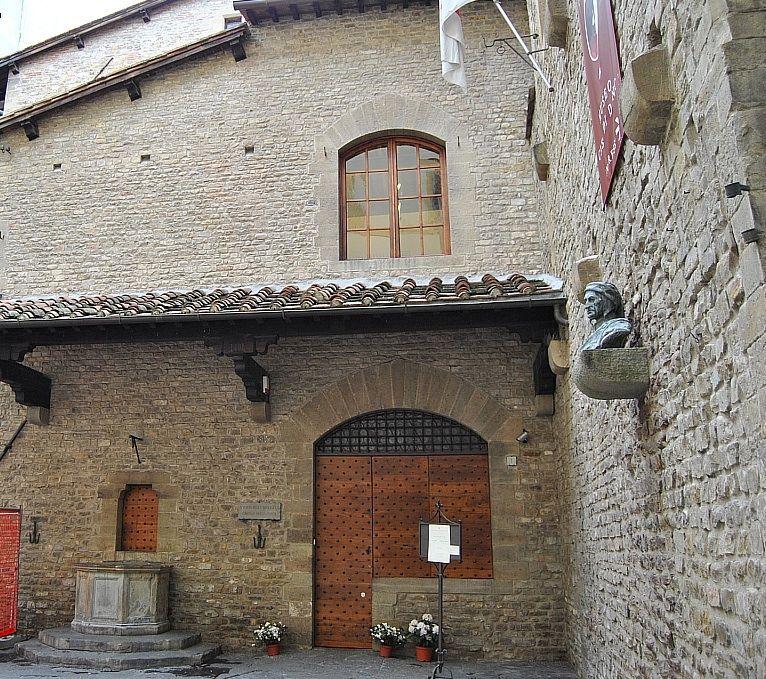 Firenze La Casa Di Dante Florence Italy Firenze