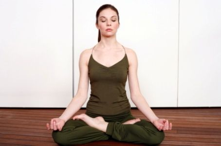 deep breathing exercise with images  easy yoga poses