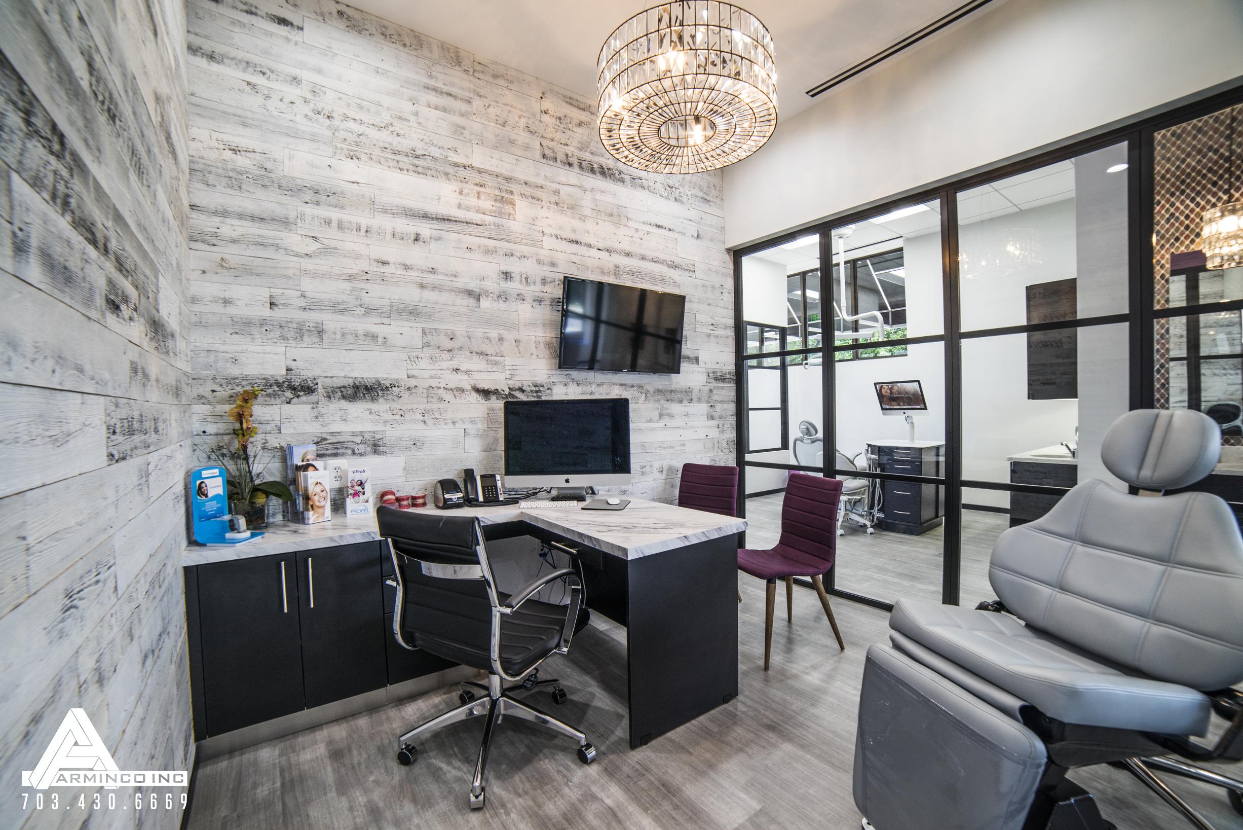 Dental Office Design by Arminco Inc. Consult Dental