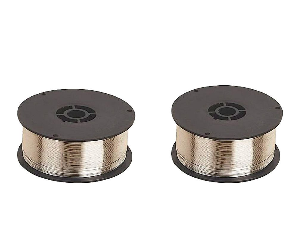 2 Pcs Pack of 2 rolls Gasless Mig Welding Wire - 0.9mm x 0.45 kg ...