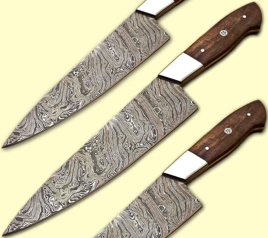 Ck110 damascus knife custom handmade 1300 inches