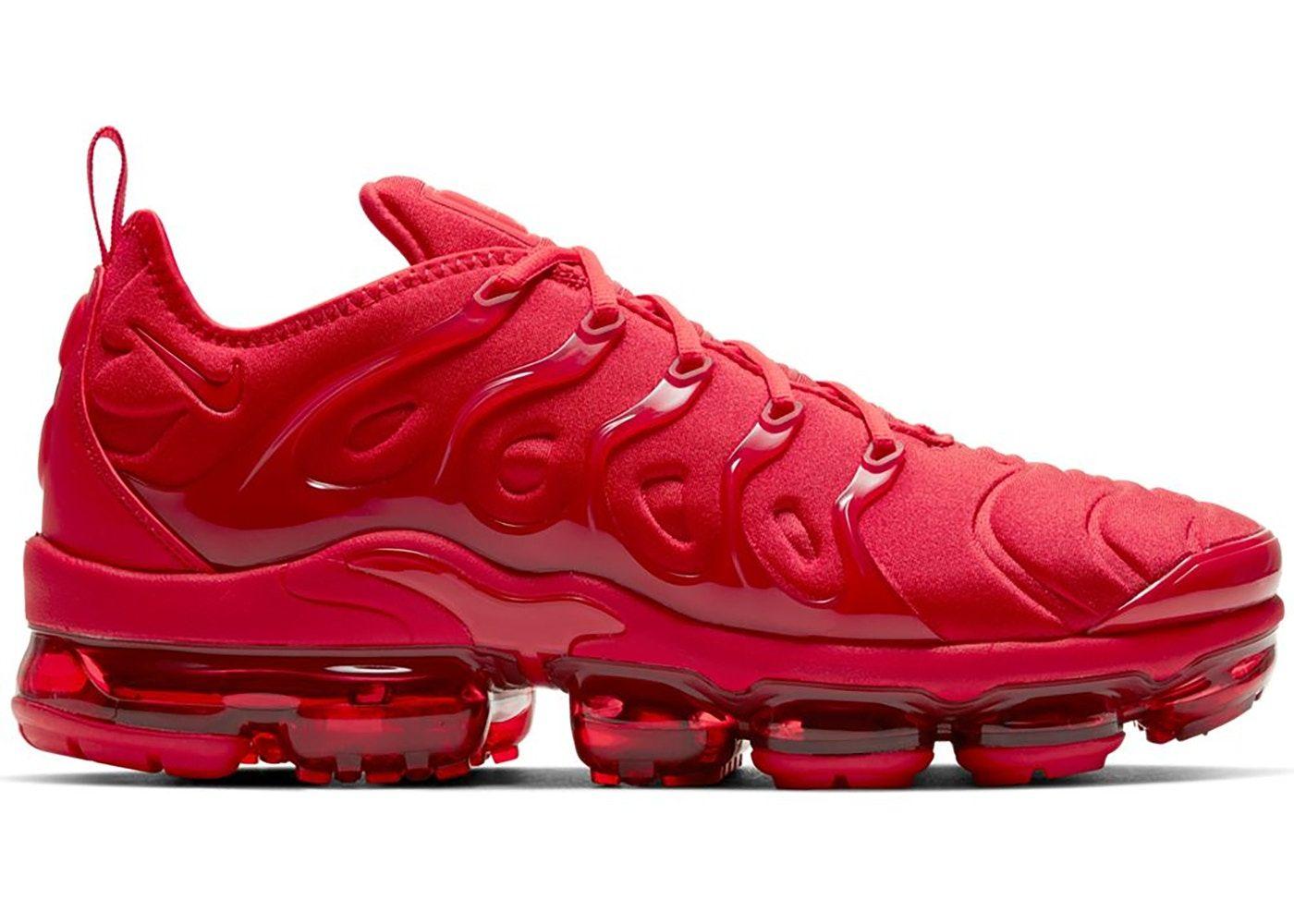 Nike Air VaporMax Plus Triple Red in