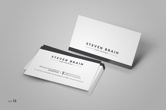 Business Card Minimalist Business Cards Business Card Template Design Business Card Design