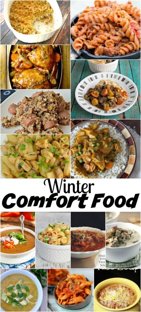 Winter Comfort Food Recipes |  Nap Time Creations