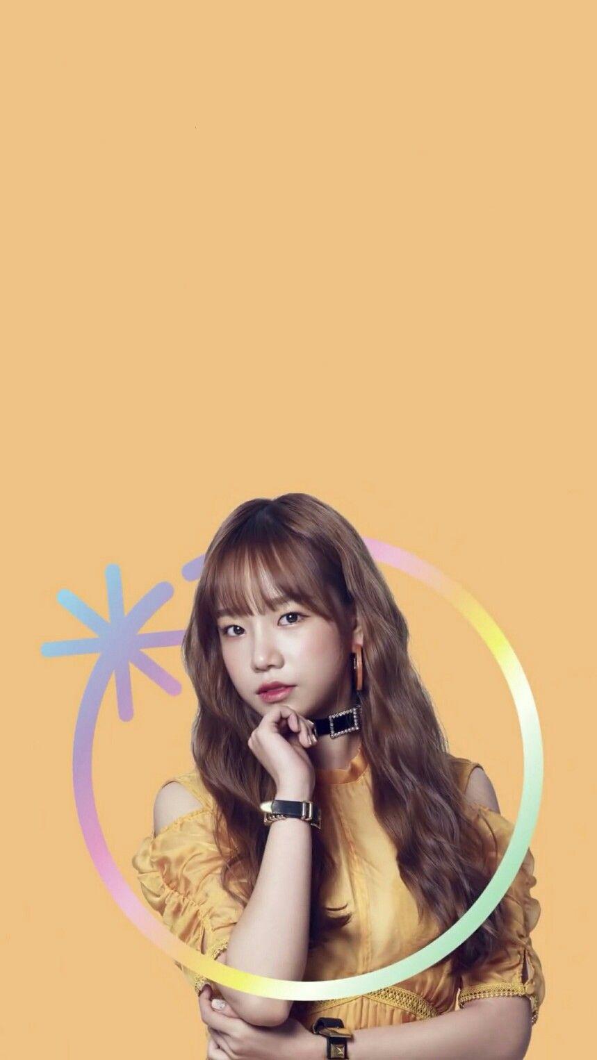Izonewallpaper Izone Joyuriwallpaper Joyuri Yuriwallpaper Yuri Yabu Fan Art Kpop Wallpaper