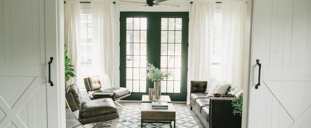 """A one-of-a-kind Fixer Upper gets a modern makeover as Chip & Joanna show Todd & Lexia Meek """"The Barndominium."""" See before and after photos here!"""